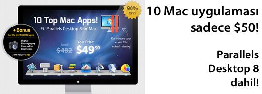 10 mac uygulaması sadece 10 dolar