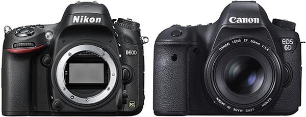 Nikon D600 ve Canon EOS 6D Karşılaştırma
