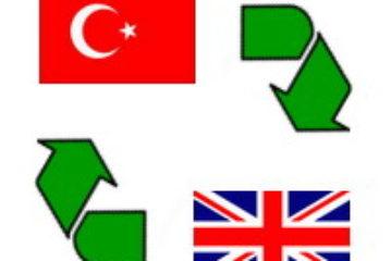 Türkçe - İngilizce Cümle Çevirileri Anlamları ve Okunuşları