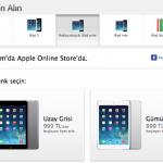 iPad Air ve Retina Ekranlı iPad mini Türkiye Satış Tarihi ve Fiyatı
