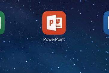 iPad için Word, Excel ve PowerPoint yayınlandı.