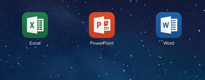 MS office for ipad and iphone