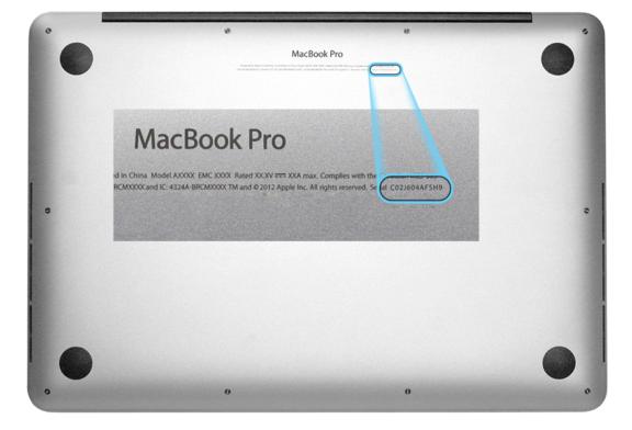 Mac Seri Numarası Nasıl Bulurum?