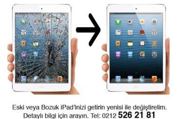 iPad Değişim Programı (Garantili / Garantisiz - Ücretli / Ücretsiz) iPad Değiştirme