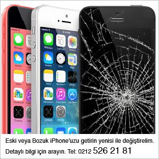 iPhone Değişim Programı (Garantili / Garantisiz - Ücretli / Ücretsiz)