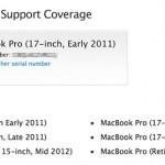Apple, Şubat 2011 – Şubat 2013 tarihleri arasında satılmış Macbook Pro modelleri için tamir programı başlattı.