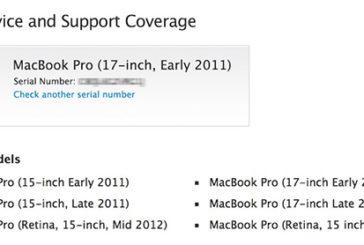 Apple, Şubat 2011 - Şubat 2013 tarihleri arasında satılmış Macbook Pro modelleri için tamir programı başlattı.