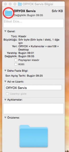 OS X Klasör:Dosya Simgesini:icon'unu Değiştirmek Resimli Anlatım R.2