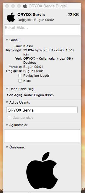 OS X Klasör:Dosya Simgesini:icon'unu Değiştirmek Resimli Anlatım R.5