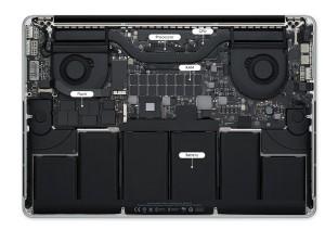 Retina Ekran Macbook Pro 2014 Batarya Değişimi