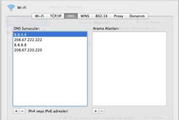 Mac OS X'te DNS Ayarı Değiştirmek (Resimli ve Video Anlatım)