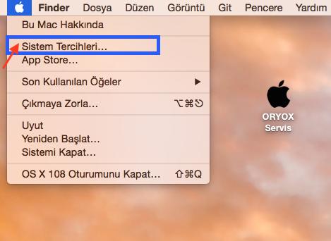 Mac OS X Sistem Tercihleri