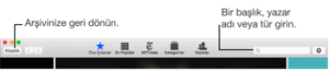 iBooks for Mac: iBooks Store'da alışveriş