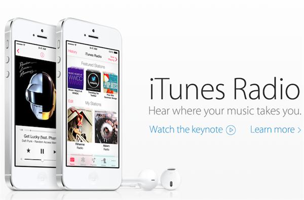 iPhone iTunes Radio