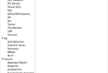 OS X: Sistem Bilgileri ve Sistem Bilgisi Verici hakkında