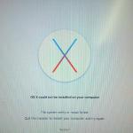 OS X could not be installed on your computer Hatası ve Çözümü / Fix