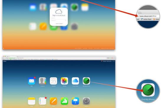 iCloud.com üstünden iPhone bul özelliğini kapatmak 1