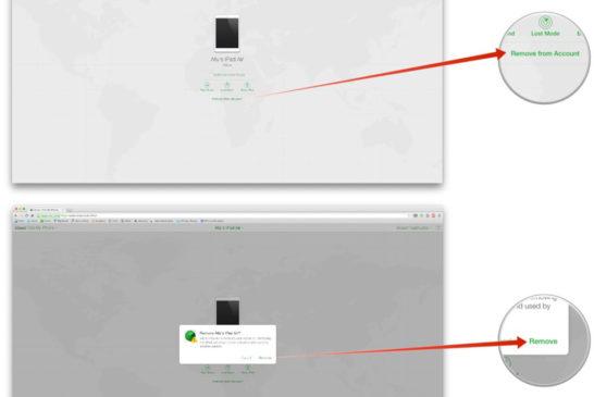iCloud.com üstünden iPhone bul özelliğini kapatmak 3