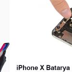 iPhone X Batarya (pil) Değiştirme