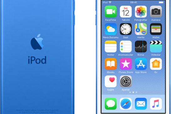 iPod touch 6 nesil - blue