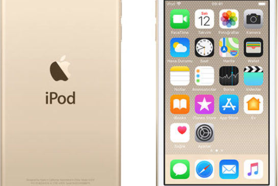 iPod touch 6 nesil - gold