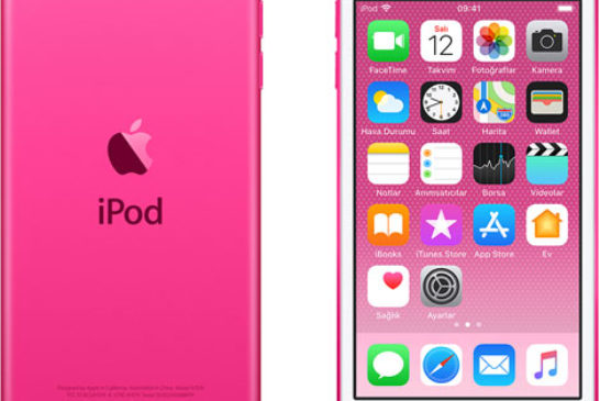 iPod touch 6 nesil - pink