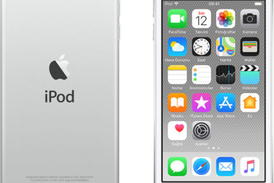 iPod touch 6 nesil - silver