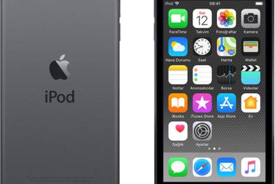 iPod touch 6 nesil - uzay grisi