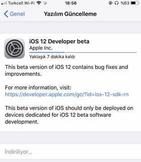 iOS 12 Beta nasıl yüklenir?