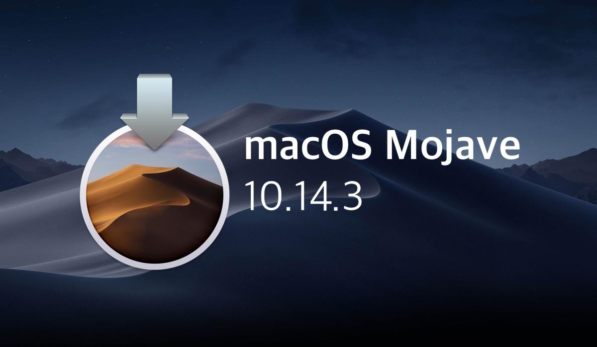iMac, MacBook, Mac mini ve Mac Pro sahipleri için macOS Mojave 10.14.3 güncellemesini indirime sundu.