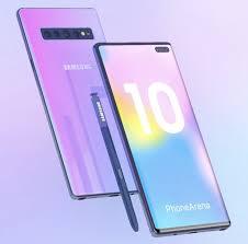 Samsung Galaxy Note 10 daha kavisli bir tasarım ile gelecek